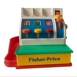 Vintage 1994 Fisher Price Cash Register Toy